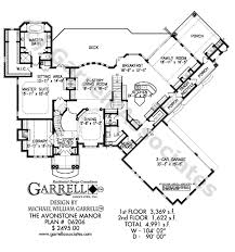 country house floor plan avonstone manor house plan house plans by garrell associates inc