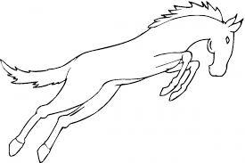 mustang horse coloring pages animal coloring pages