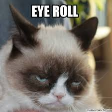 Roll Meme - eye roll meme generate a meme using this image
