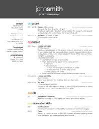 Modern Resume Examples by Resume Examples 47 Latex Resume Templates Latex Cv Template