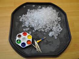 25 unique ice cube painting ideas on pinterest ice painting