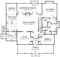 Southern Living Floorplans Gilliam Southern Living House Plans
