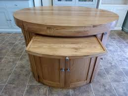 oak kitchen island units oak kitchen island with breakfast bar kitchen and decor