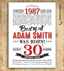 30th birthday invitation surprise 30th birthday party invitation