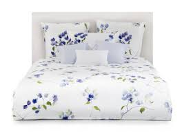 schlossberg loraine cristal blue and white floral bedding