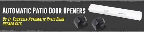 Automatic Patio Door Opener Automatic Patio Door Openers Do It Yourself Automatic Patio Door