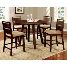 Dining Room Sets 8 Chairs Furniture Of America Hockenberry 7 Piece Dining Table Set Hayneedle