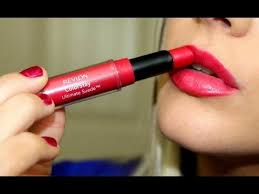 tutorial lipstik revlon revlon colorstay ultimate suede lipstick first impression