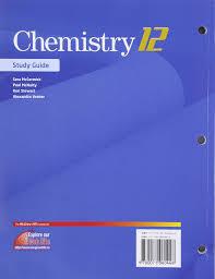 chemistry 12 study guide barbara nixon ewing 9780071060448
