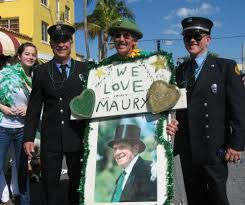 history of st patrick u0027s day parade in delray maury power