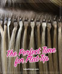babe hair extensions the perfect time for flat tip babe hair hair extensions gossip
