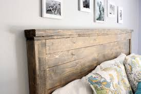 Headboard Designs Wood Wood Headboards King Sized Collection With Attractive Make A