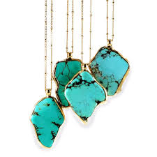 turquoise birthstone necklaces inbal mishan jewelry