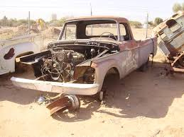 Classic Ford Truck Auto Parts - 1964 ford truck f250 64ft8098c desert valley auto parts
