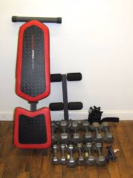 Weider Pro Bench Furniture 1 Weider Pro 230 Weight Bench And Hand Barbell