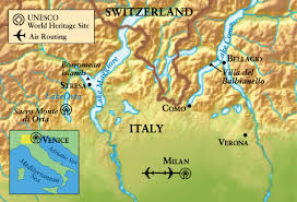 Lake Como Italy Map Village Life Around The Italian Lakes The Ohio State University