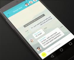 chat for android 33 clean chat interfaces for mobile app designers bittbox