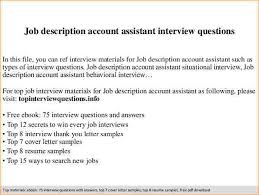 Accounting Assistant Job Description Resume by Accounts Assistant Job Description Business Proposal Templated