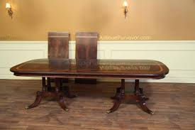 Extra Long Dining Room Table Flame Mahogany