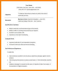 Student Internship Resume Template 9 Best Student Resume Format Writing A Memo