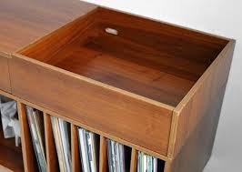 Mid Century Record Cabinet by Vintage Swedish Teak Record Cabinet Mid Century Credenza By Moved