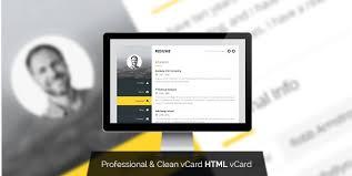 34 best vcard html website templates 2017