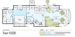 rv bunkhouse floor plans motorhome layouts plans with beautiful type in singapore fakrub com