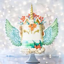 mermaid unicorn by with love u0026 confection cakes u0026 cake