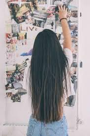 i swear my hair was just as long and straight as this lovely