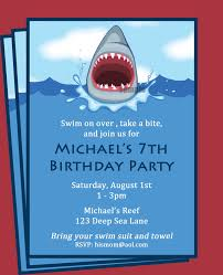 pool party invitations free shark invitation printable printable or printed with free