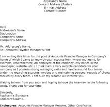 28 cover letter accounting payable incredible accounts