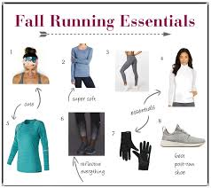 favorite fall running clothes the runner s plate