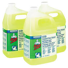 Laminate Floor Care And Cleaning Mr Clean 1 Gal Lemon Scent Finished Floor Cleaner Case Of 3