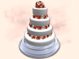 wedding cake roses second marketplace big cake wedding cake roses with