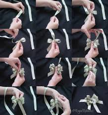 tying gift bows how to tie bow present images diy gift bow