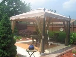 Patio Gazebos by Decorating Using Outstanding Garden Winds Gazebo For Cozy Garden