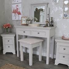 bedroom set with vanity table grey wooden dressing table stool mirror bedroom furniture set