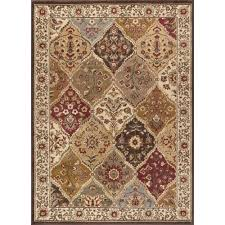 tayse rugs elegance multi 7 ft 6 in x 9 ft 10 in traditional