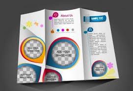 contoh desain brosur hotel cara membuat desain brosur yang menarik brosur lipat 3 vector