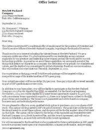 offer letter sample offer letter agreement template agreements org