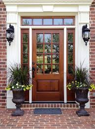 House Entrance Designs Exterior Best 25 Wood Front Doors Ideas On Pinterest Dark Front Door