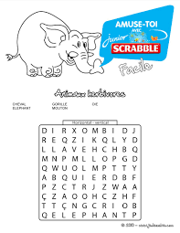 mots mêlés à imprimer jeux pour enfants jeux de coloriage fr