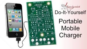 make a portable mobile charger at home hindi urdu youtube