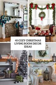 Christmas Living Room Decorating Ideas Bjhryz Com