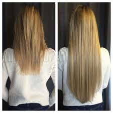 Hair Extensions La Crosse Wi by Blonde Broken Hair Is Fixed With Safe Non Damaging Hair