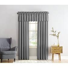 Kitchen Kitchen Curtain Sets Standard by Gray U0026 Silver Valances U0026 Kitchen Curtains You U0027ll Love Wayfair