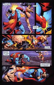 superman vs wonderwoman battles comic vine