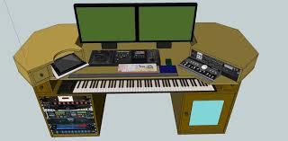 Diy Recording Desk Joins Diy Recording Studio Desk Plans