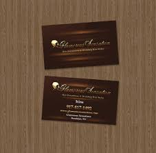 Home Design Business Cards Home Design Business Card Sample U2013 Hair Stylist Studio Sky