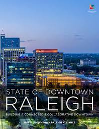 Raleigh Greenway Map State Of Downtown Raleigh Report 2017 By Downtown Raleigh Alliance